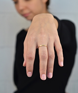 Stripes Ring - Gold