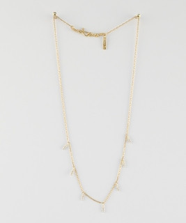 Namibie Drops Necklace - Silver