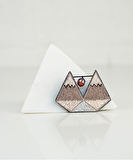 Mountain Embroidered Pin