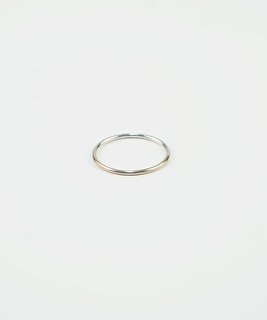 Duo Gold & Silver Ring