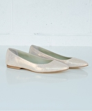 Ballet Flat - Broken Glass Rose Gold