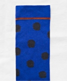 Matisse Blue Polka Dot Socks