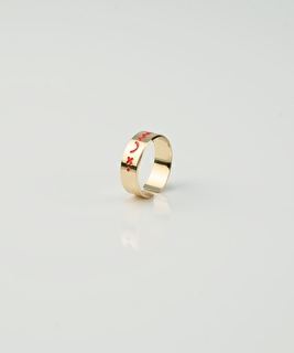 Isis Ring - Coral
