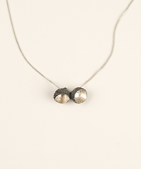 Brava Necklace - Oxidized