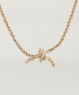 Knot Necklace - Rose Gold