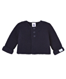 Faba Knit Cardigan, Smoking - Baby