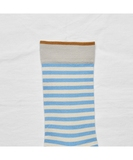 Azure Stripe Socks