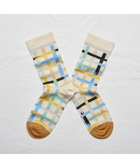 Natural Ladder Socks
