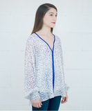 Hiba Blouse - Blue