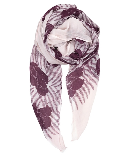 Kalei Scarf - Windsor Wine