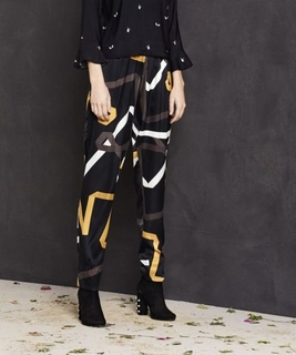 Rays Silk Pants - Gordian