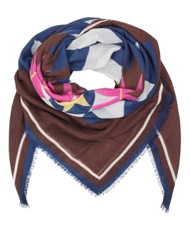 Moral Wool & Cashmere Scarf - Winetasting