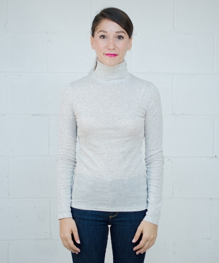 Delou Soft Turtleneck - Grey