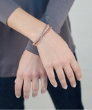 Pampille Bracelet or Necklace - Rose Gold
