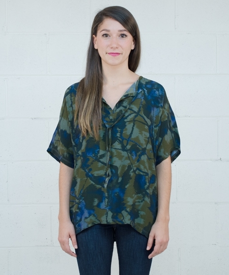 Elinor Blouse - Dark Khaki