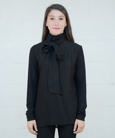 Tine Shirt - Solid Black