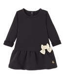 Linera Chocolate Fleece Dress