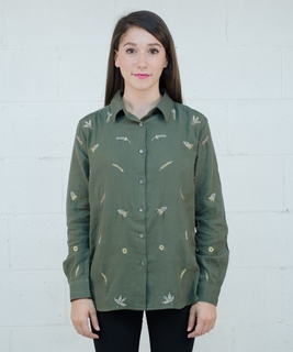 Cueillette Embroidered Shirt
