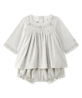 Lambda Twill Dress & Bloomer