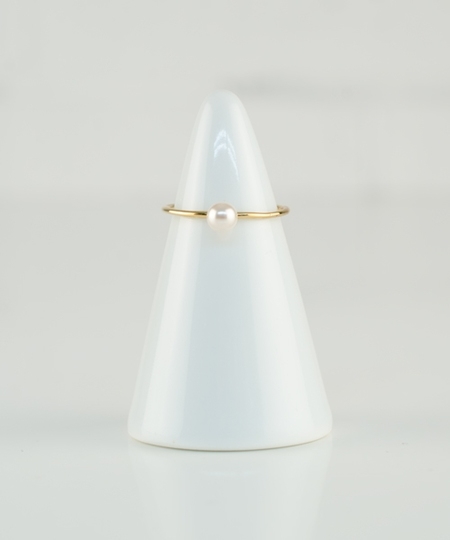 Bovary Ring - White