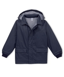 Folk Iconic Unisex Raincoat - Navy