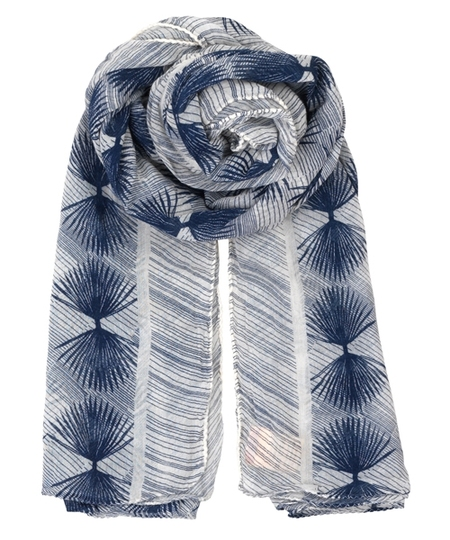 Alum Blue Nights Scarf
