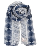 Alum Cotton Scarf - Blue Nights