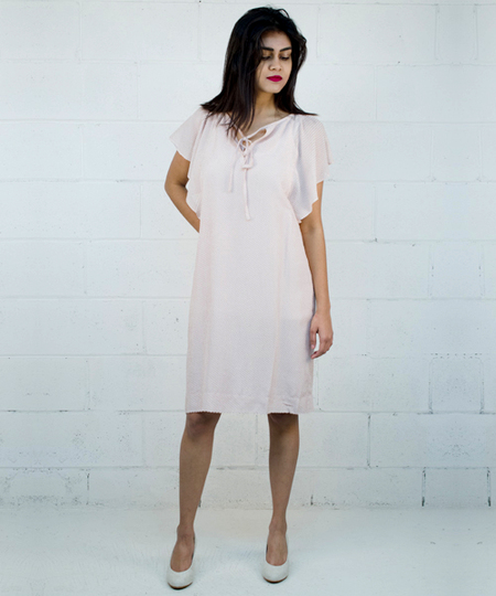 Jenny Dress - Nude
