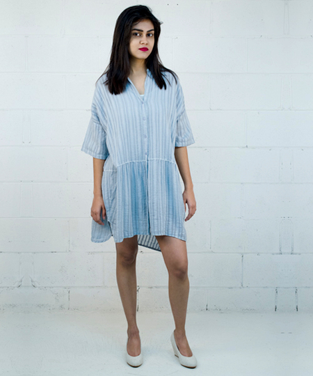 Tender Tunic / Dress - Indigo