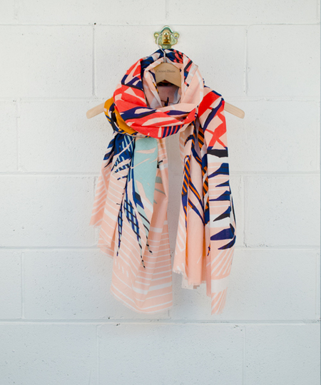 Vegetal Blush Scarf