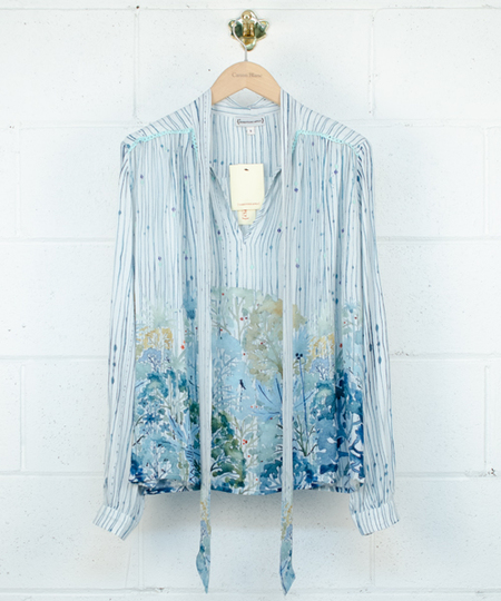 Can't Stop Now Blouse - Garden