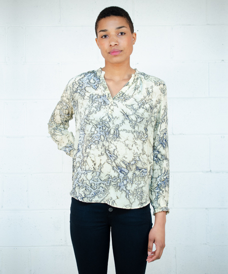 Glory Blouse - Moss