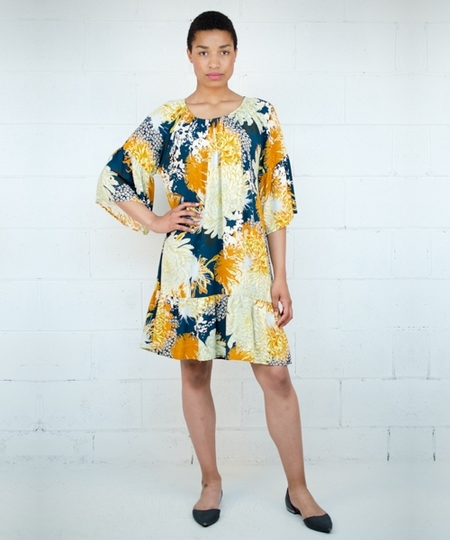 Luc Chrysanthemum Dress