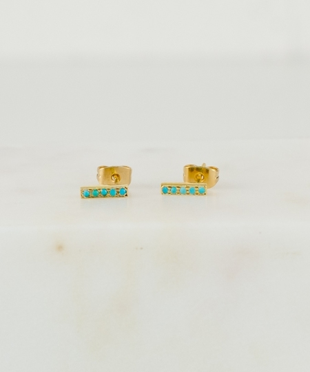 Tomi Turquoises Earrings