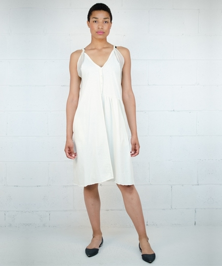 Thelma Dress - Ecru
