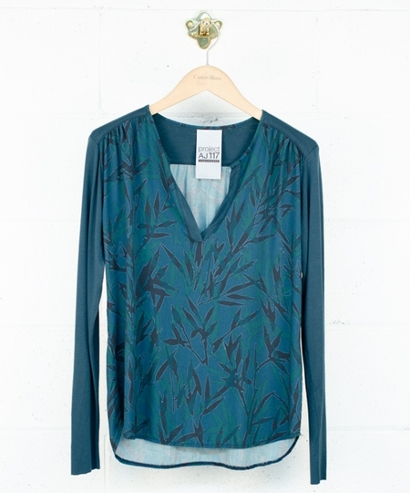 Molly Blouse - Stormy