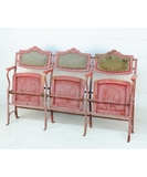 Antique French Theatre Seats