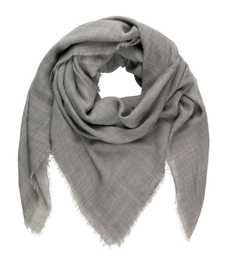 Mill Grey Melange Scarf