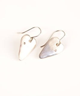 Heart Diamonds Earrings