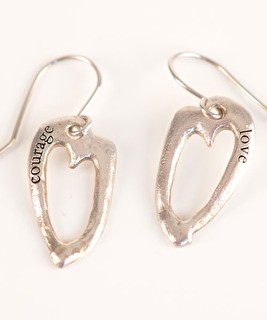 Courage & Love Earrings