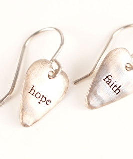 Hope & Faith Earrings