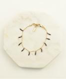 Namibie Drops Bracelet - Oxidized