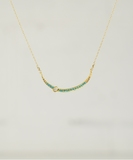 Sara Diamonds & Turquoise Necklace