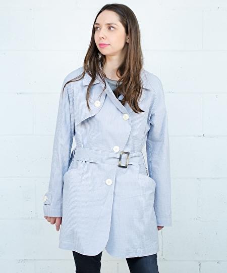 Kristal Seersucker Coat