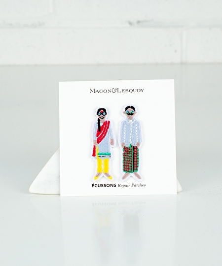 Indian Couple Patch