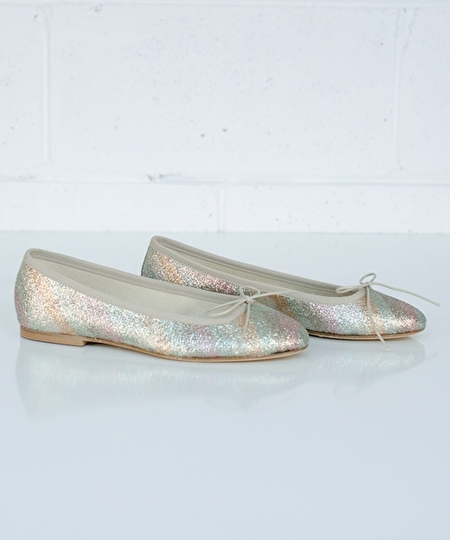 Ballet Flat - Pastel Stripes