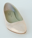 Ballet Flat - Broken Glass Rose Gold