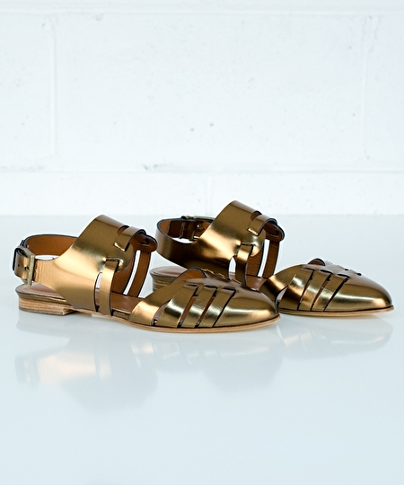 Fedora Sandals - Copper