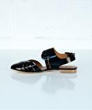 Fedora Sandals - Black