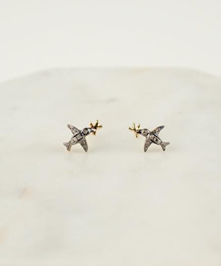 Gill Diamonds Earrings